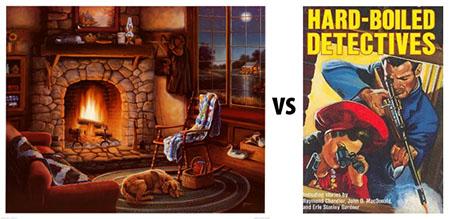 Cozy vs Hard-boiled
